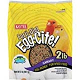 Kaytee Forti Diet Egg-Cite Food for Canaries, 2-Pound Bag, My Pet Supplies