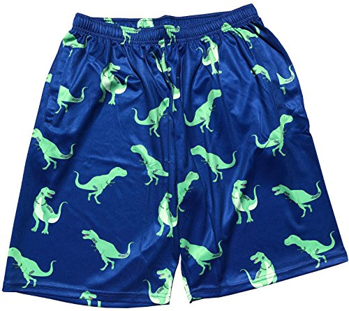 Lacrosse Shorts – Dinosaur (T-Rex) Pattern – DiZiSports Store