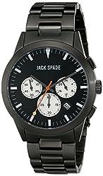 Jack Spade Men's WURU0190 Analog Display Japanese Quartz Grey Watch
