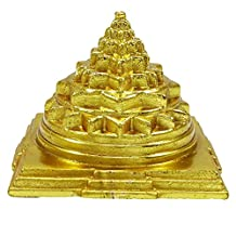 Indian Maha Meru Yantra Brass Vastu Correction & Prosperity Feng Shui Spiritual