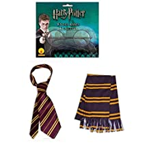 Harry Potter Tie Scarf and Glasses Costume Accessory Kit