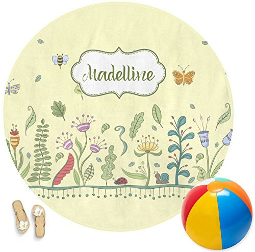 RNK Shops Nature Inspired Round Beach Towel