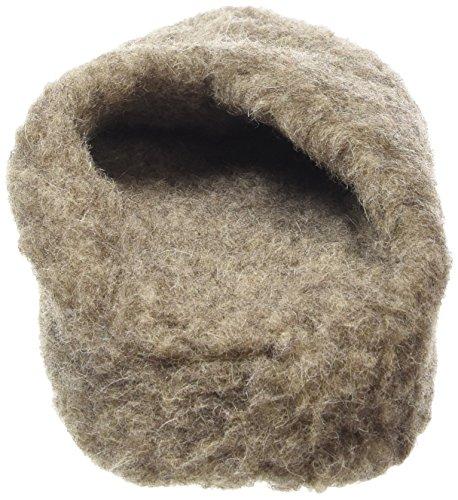 Woolsies - Zapatillas de estar por casa de lana para hombre marrón marrón