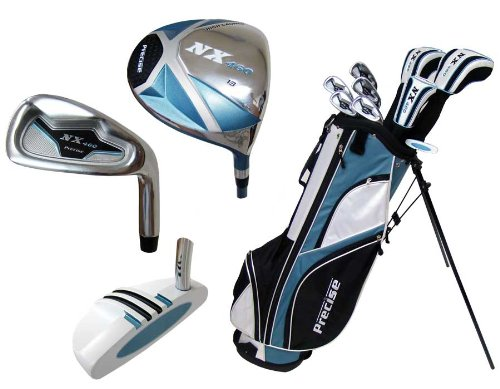 Precise Deluxe Women's Complete Set (Blue), Graphite, Right Hand, Ladies For Sale