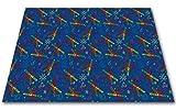 Kid Carpet Crayon Scribbles Nylon Area Rug 12' x