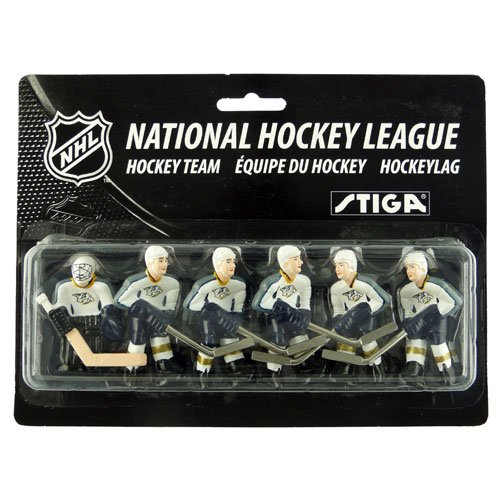 NHL Nashville Predators Table Top Hockey Game Players Team Pack