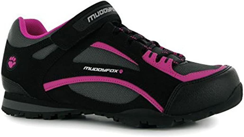 Muddyfox Womens TOUR100 Low Ladies Cycling Shoes Sport Cycle Trainers