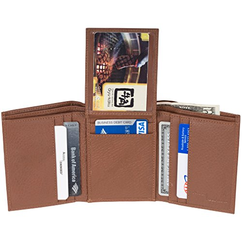 Access Denied Genuine Leather Trifold