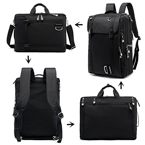 """NUMANNI 17"""" Laptop Briefcase Backpack,Business bags for m..."""