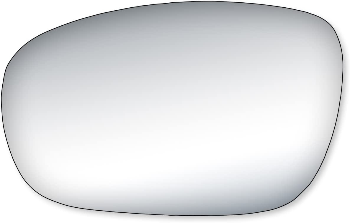 2011, 2012, 2013, 2014, 2015, 2016 Dodge Charger 300 Burco 5465 Convex Passenger Side Replacement Mirror Glass for Chrysler 200