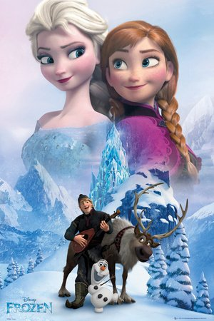 Poster Frozen Collage Reasonably Priced Poster Xxl Wall