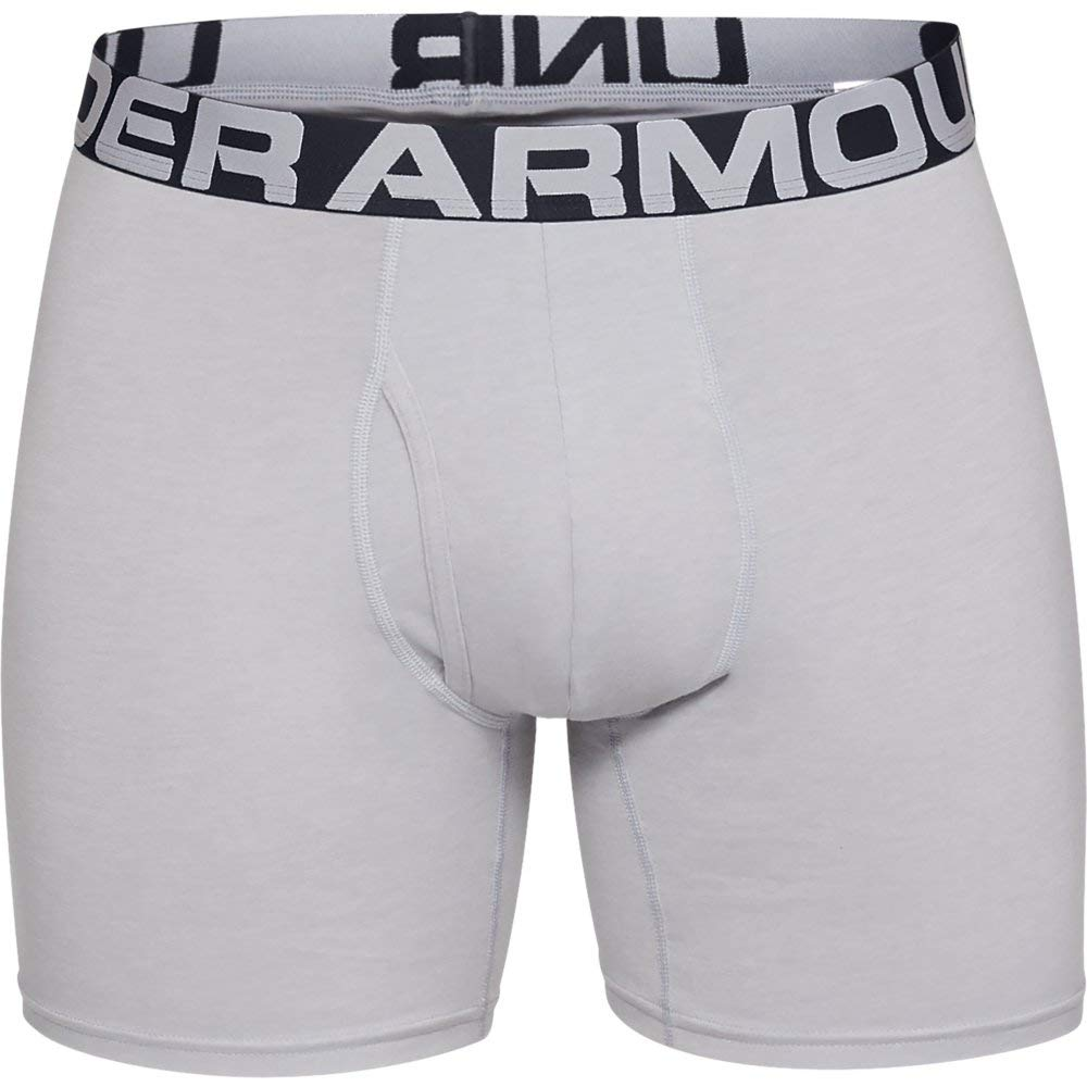 Under Armour Charged Cotton 6in 3 Pack Boxer Uomo