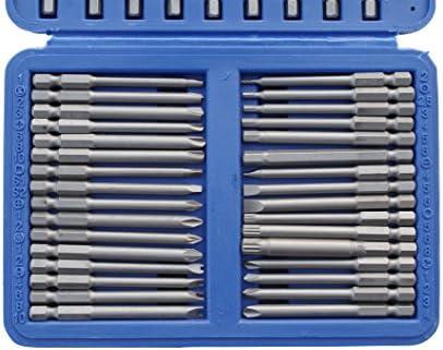 Vielzahn PZ BGS 757 Bitsatz lang Torx PH 50-teilig für Sicherheitsschrauben