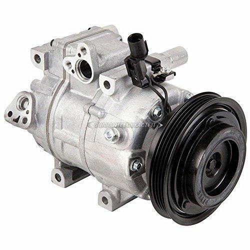 Hyundai A/c Compressor - AC Compressor & A/C Clutch For Hyundai Elantra 2007 2008 2009 2010 2011 2012 - BuyAutoParts 60-02430NA NEW