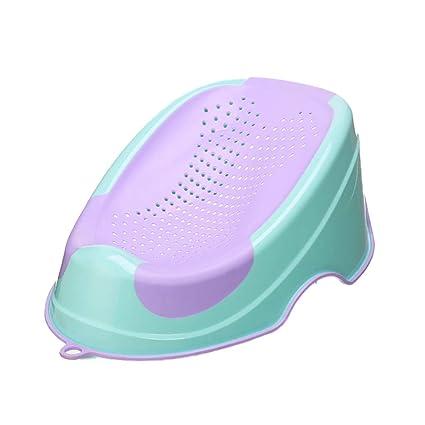 Snow Yang Colchoneta de baño para bebé recién nacido placa de baño ...