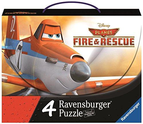 Ravensburger Disney Planes Fire & Rescue: Planes 2-4 Puzzles in a Suitcase Box