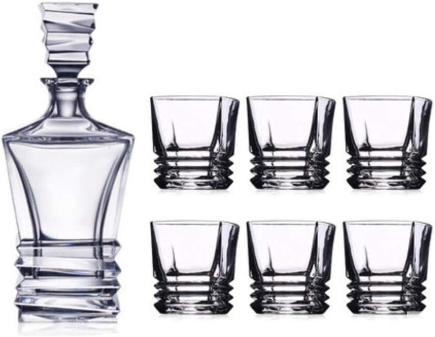 YYCDD Whisky Cup Set Cristal, Vaso de Vidrio Copa de Vino ...