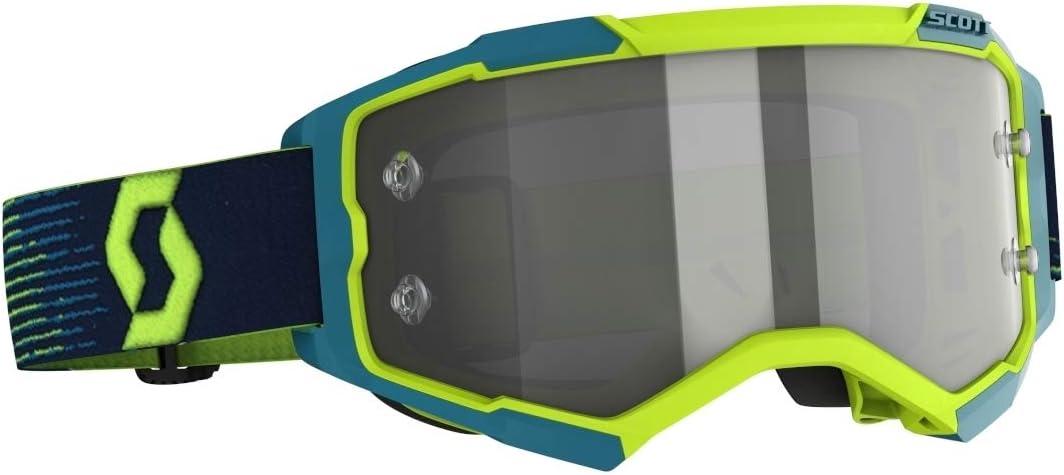 Masque Cross SCOTT Fury Neon Yellow Blue Light Sensitive Grey Works