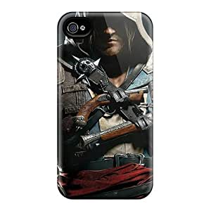 iPhone 5c Case Slim [ultra Fit] Assassins Creed Iv Black Flag Protective Case Cover