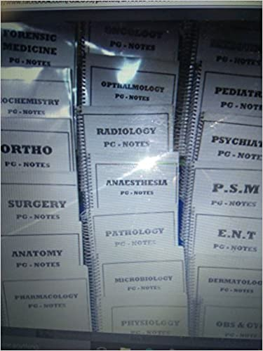 Buy Medical PGMEE, All 20 Subjects, (Handwritten Notes) Book