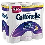 Cottonelle Ultra Comfort Care Toilet Paper 18 Double Rolls