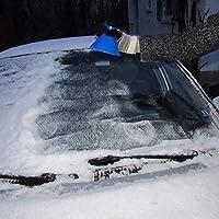 Lucaswang - Raspador de hielo para parabrisas de coche, raspa un ...