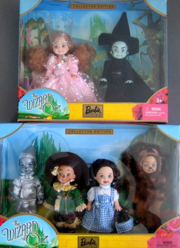 Barbie Wizard of Oz Kelly Doll & Friends Giftset & Glinda and Wicked Witch of the West Giftset (2003)
