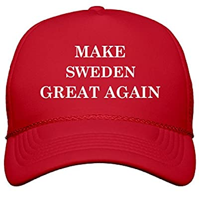 Make Sweden Great Again: OTTO Poly-Foam Snapback Trucker Hat