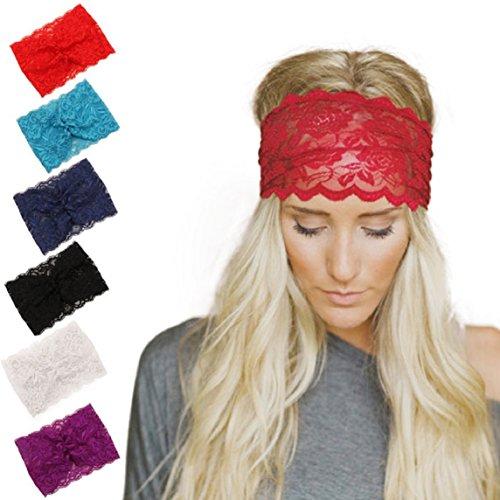 Bohemian Headwrap Moda Grande New Accessori Libero Women Amison Eggplant Black Formato Fascia per Donna capelli tvwfzpq