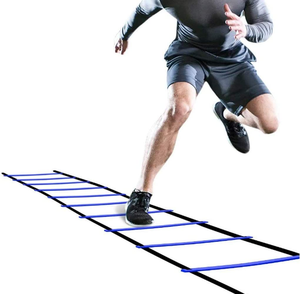 Pro Agility Ladder Agility Training Ladder Speed 12 Rung 20ft with Carrying Bag