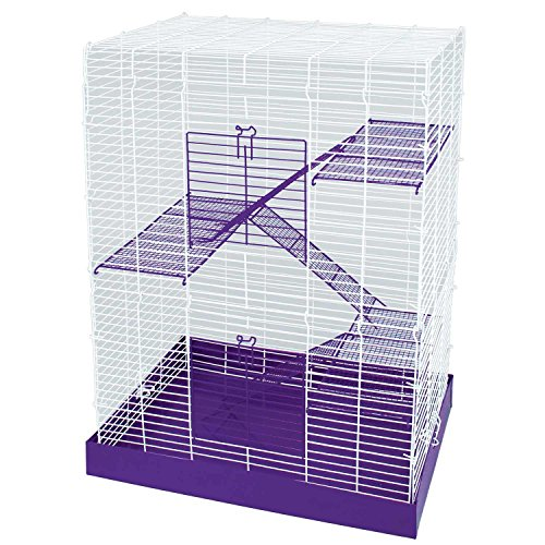 WARE-Chew-Proof-Four-Story-Hamster-Cage