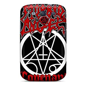Excellent Cell-phone Hard Covers For Samsung Galaxy S3 (rsV2757kClF) Unique Design Vivid Morbid Angel Band Image