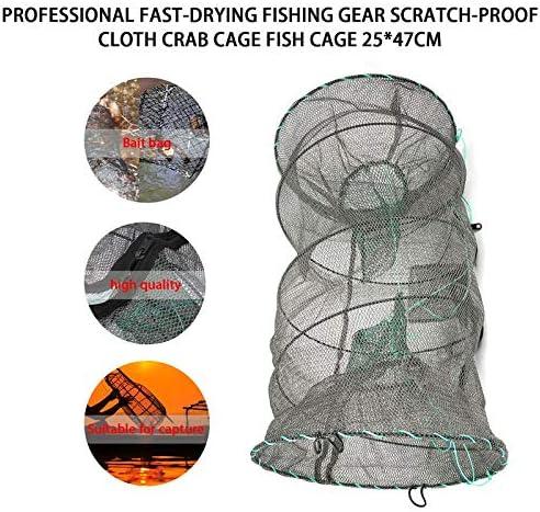 BianchiPamela Crab Crayfish Lobster Catcher Pot Trap Fish Net EEL Prawn Shrimp Live Bait
