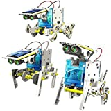 Emob 14 in 1 Educational Solar Robot Kit (Multicolor)