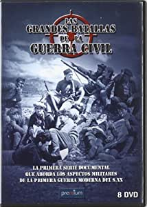 Pack Las grandes batallas de la Guerra Civil [DVD]