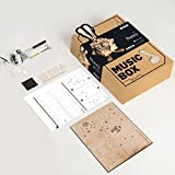 ROBOTIME 3D Laser Cut Wooden Puzzle Music Box Kit