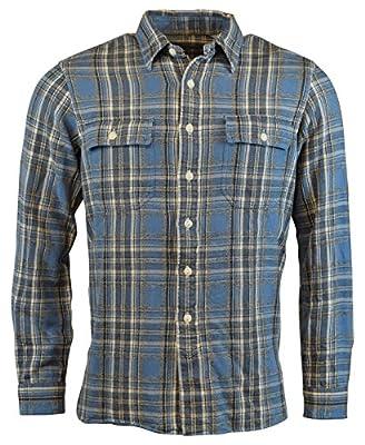 Polo Ralph Lauren Mens Regular Fit Plaid Flannel Shirt
