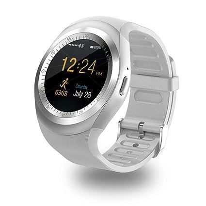 Amazon.com: C-Xka Smart Watch, Fitness Tracker, Round ...