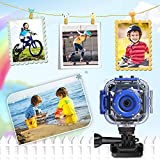 PROGRACE Children Kids Camera Waterproof Digital