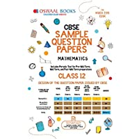 Oswaal CBSE Sample Question Papers Class 12 Mathematics (For March 2019 Exam)
