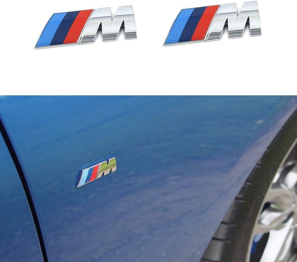2x Car Motor Side Sticker Side Fender Emblem Badge Logo Accessories For Smart
