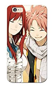 6 Scratch-proof Protection Case Cover For Iphone/ Hot Fairy Tail Scarlet Erza Fullbuster Gray Dragneel Natsu Heartfilia Lucy Phone Case