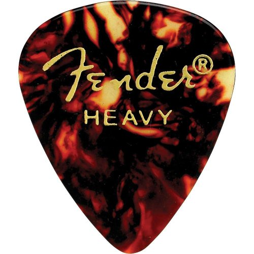 Fender 351 Shape Classic Picks  for electric guitar, acousti