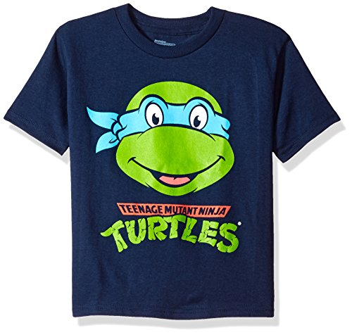 - Nickelodeon Boys' Toddler Boys' Teenage Mutant Ninja Turtles Group T-Shirt Shirt, Navy, 4T