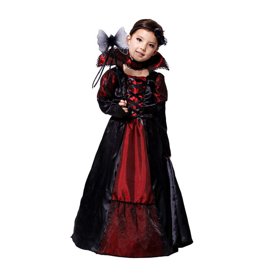 Clearance! Paymenow Toddler Kids Girls Halloween Costume Long Dress Cosplay Party Outfits Clothes for Witch