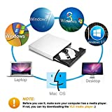 External CD DVD Drive, Blingco USB 2.0 Slim