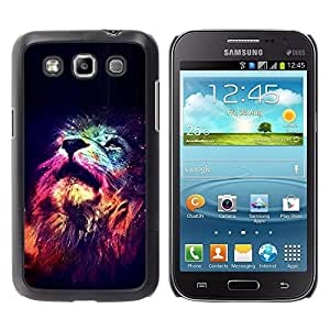 Impact Case Cover with Art Pattern Designs FOR Samsung Galaxy Win I8550 Lion Universe Stars Africa King Animal Betty shop
