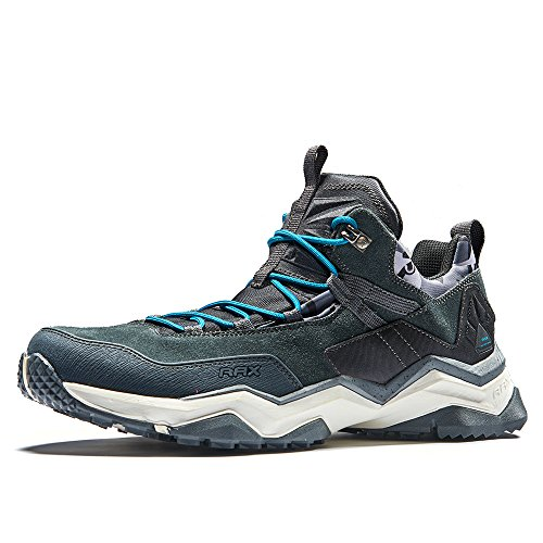 RAX Men's Lightweight Trekking Hiking Shoes(Black 10.5 US)
