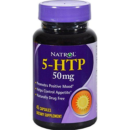 Natrol HTP 50mg Dietary Supplement