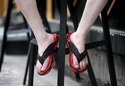 GLTER Hombres Chancletas Zapatos De Playa Sandalias Transpirables Verano Nuevo Zapatos De La Piscina De La Manera De Los Deslizadores Red
